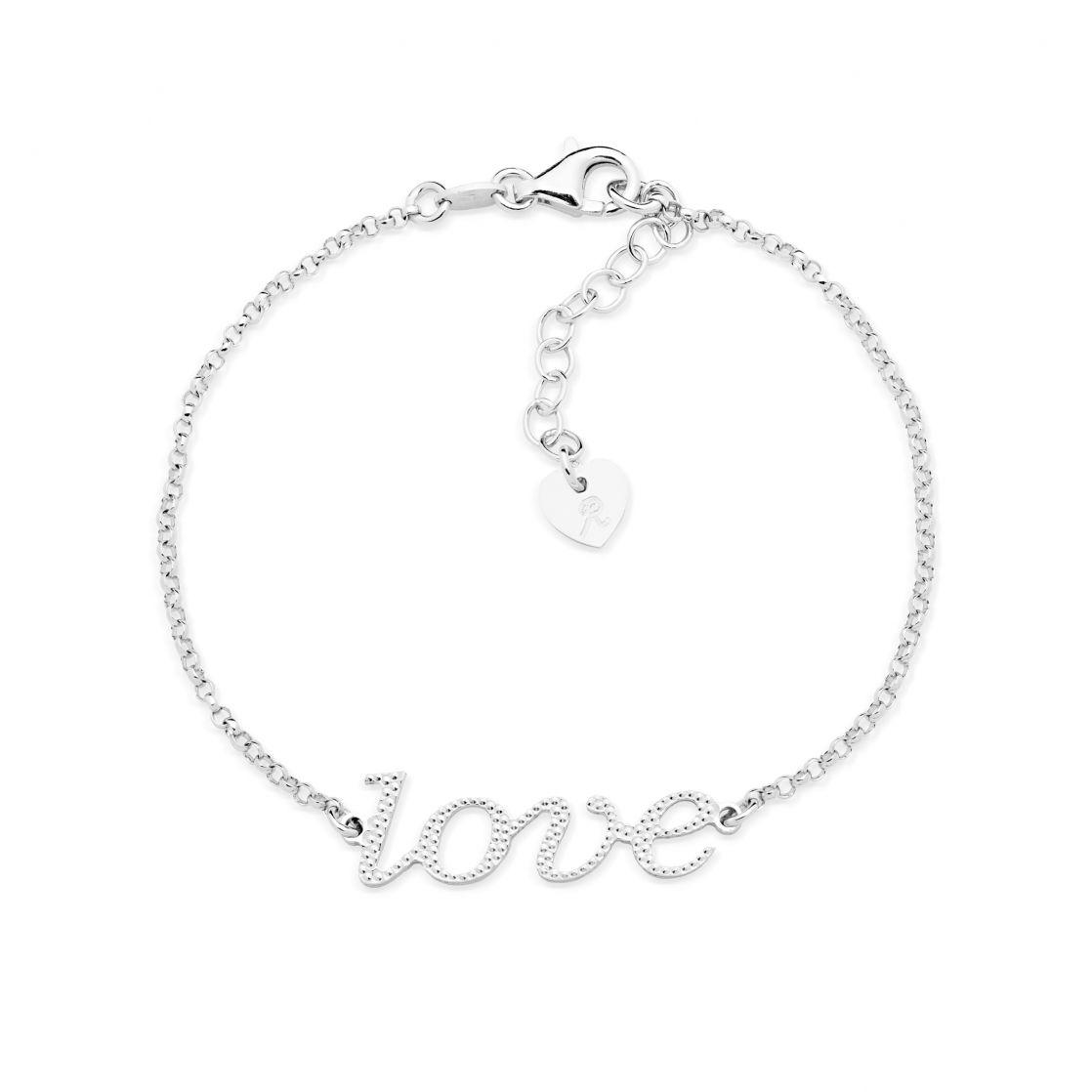 Bracelet with love element