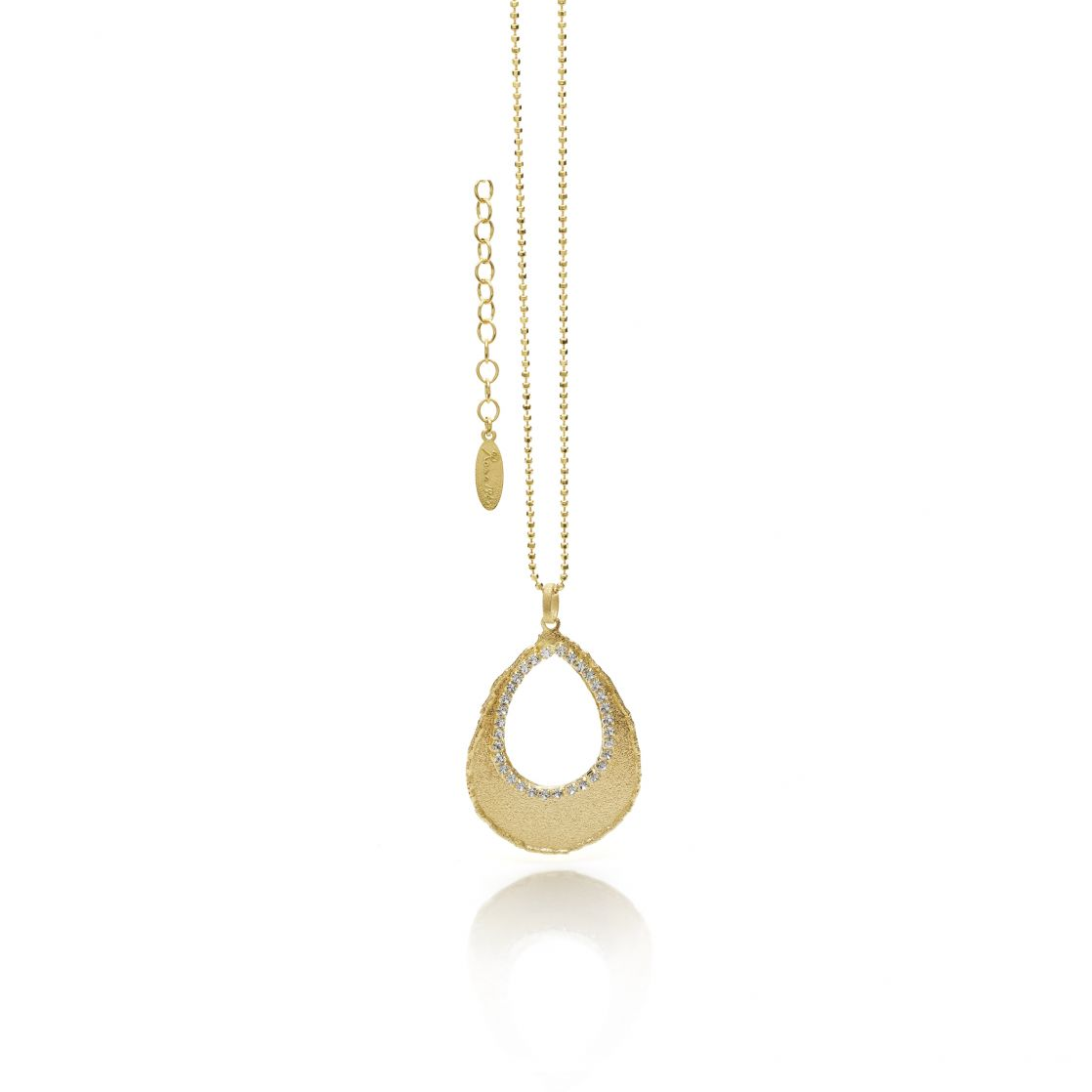 DROP SHAPED NECKLACE