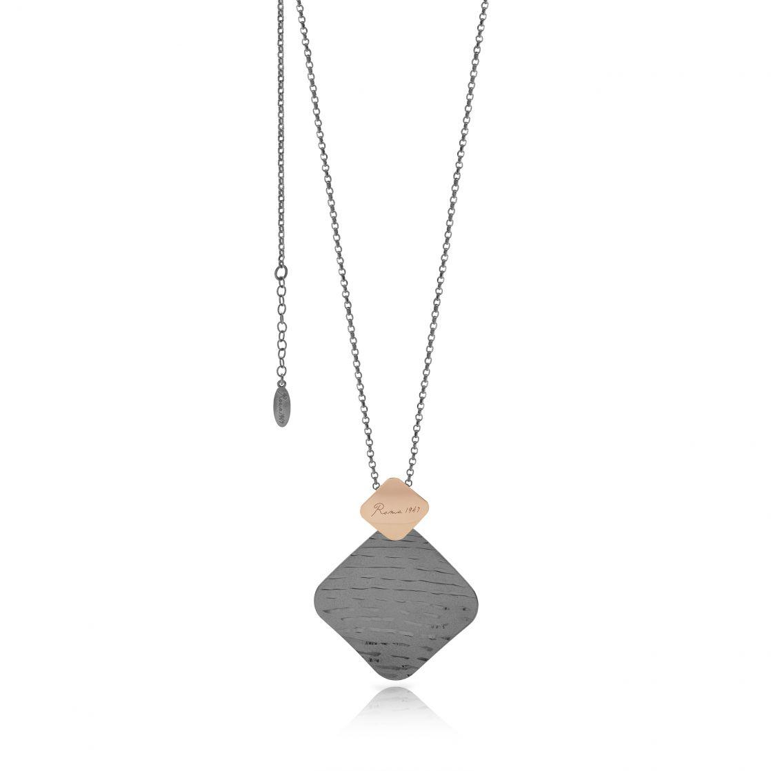Handmade satin necklace