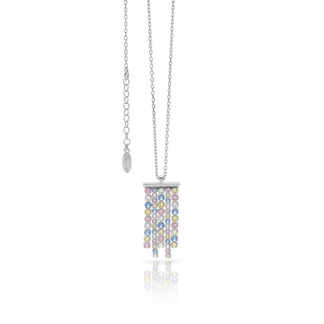 Waterfall necklace multicolor