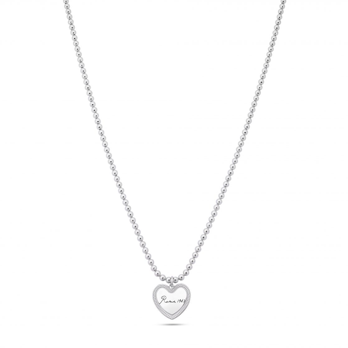 NECKLACE WITH HEART-SHAPED PENDANT