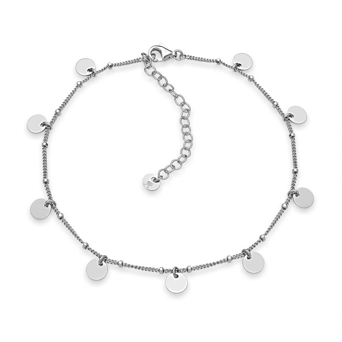 ANKLET WITH SOME SMALL POLISH CIRCLES