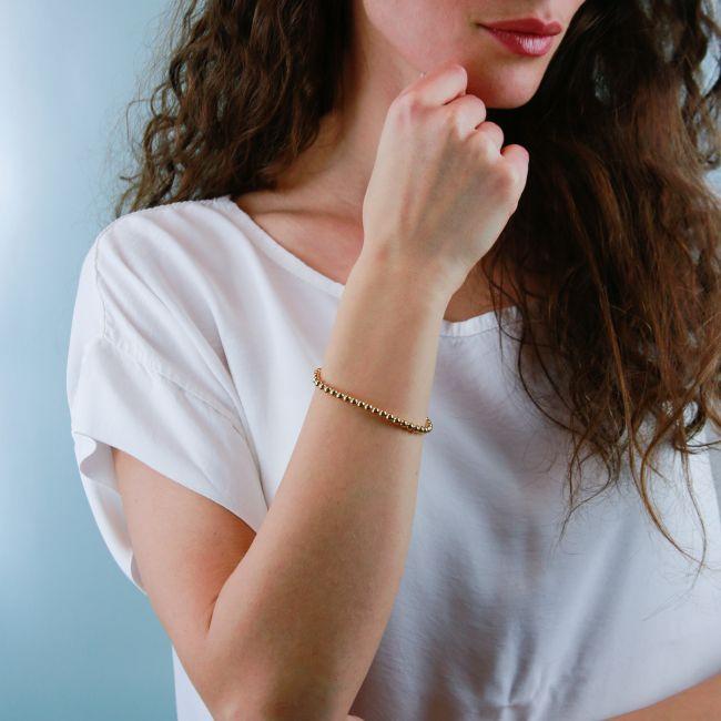 Sterling Silver Stretch Bracelet