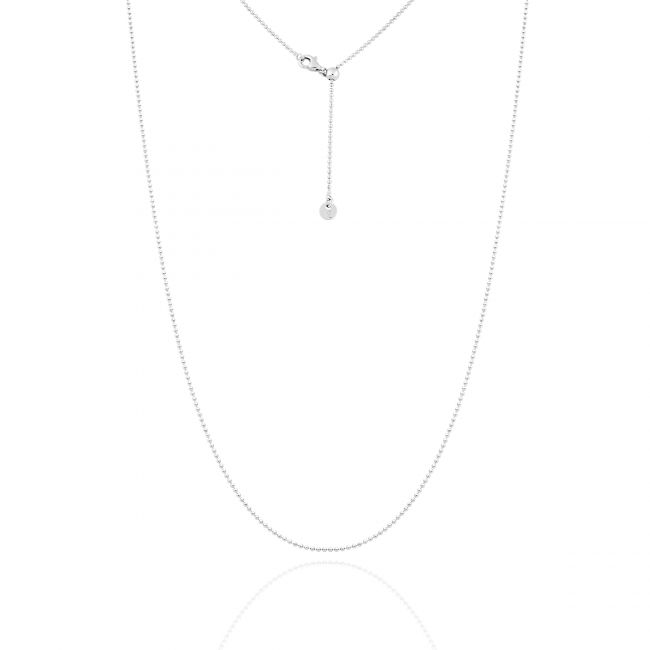 Bead Necklace With Sliding