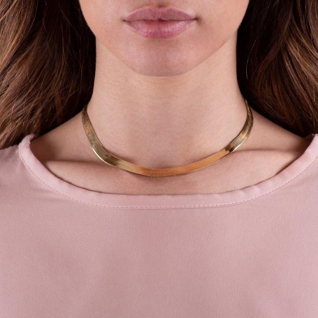 Medium Herringbone Necklace