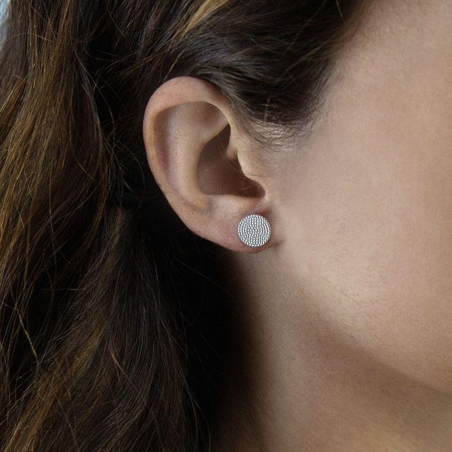 DIAMOND CUT EARRINGS