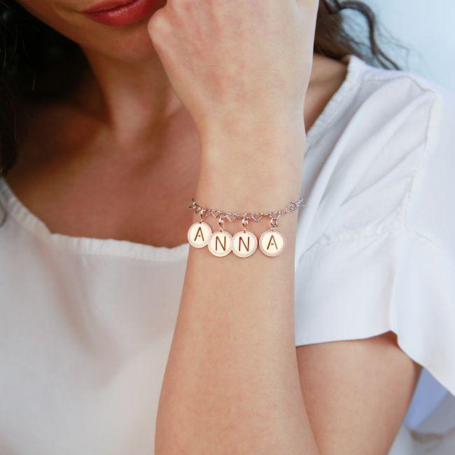 """Alphabet pendant letter """"v"""""""
