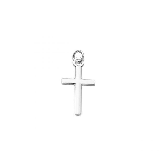 Pendente in argento a forma di croce