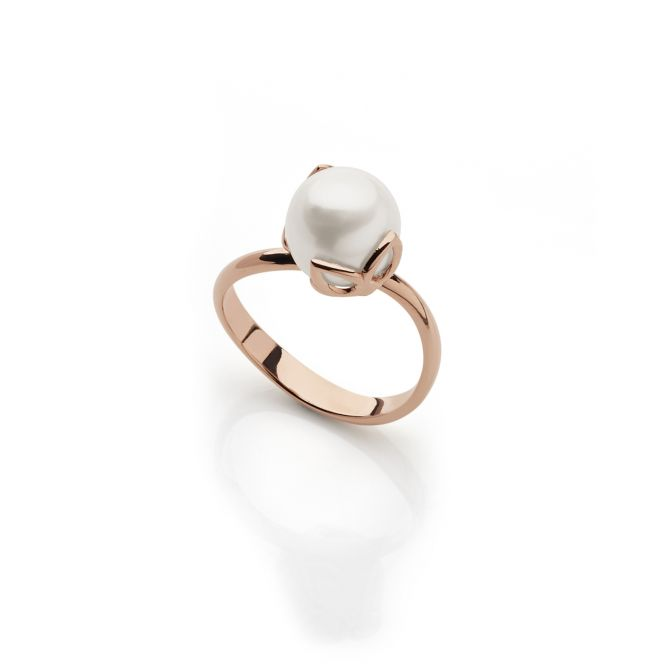 FRESHWATER SOLITAIRE PEARL RING