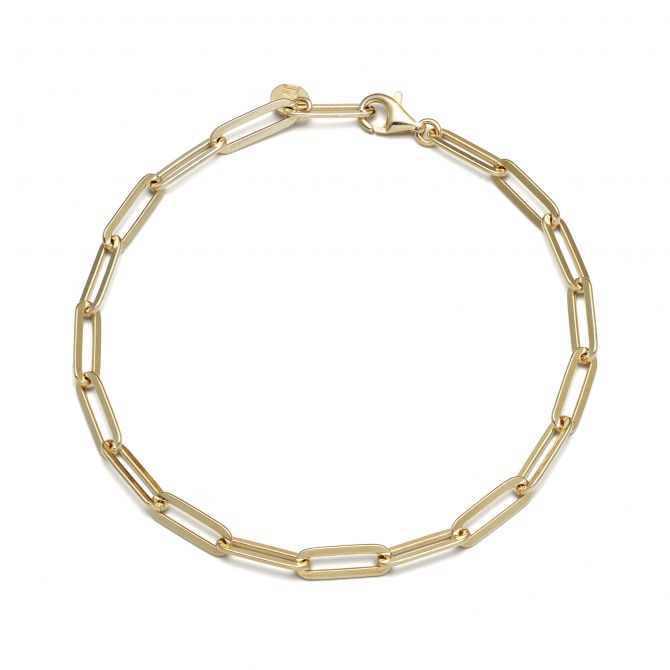 Paper Clip Chain Bracelet