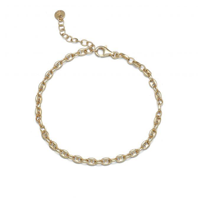 Yellow Marine Chain Bracelet
