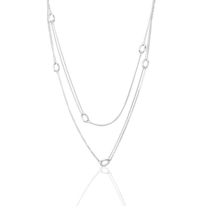 NECKLACE WITH CHAIN LINKS