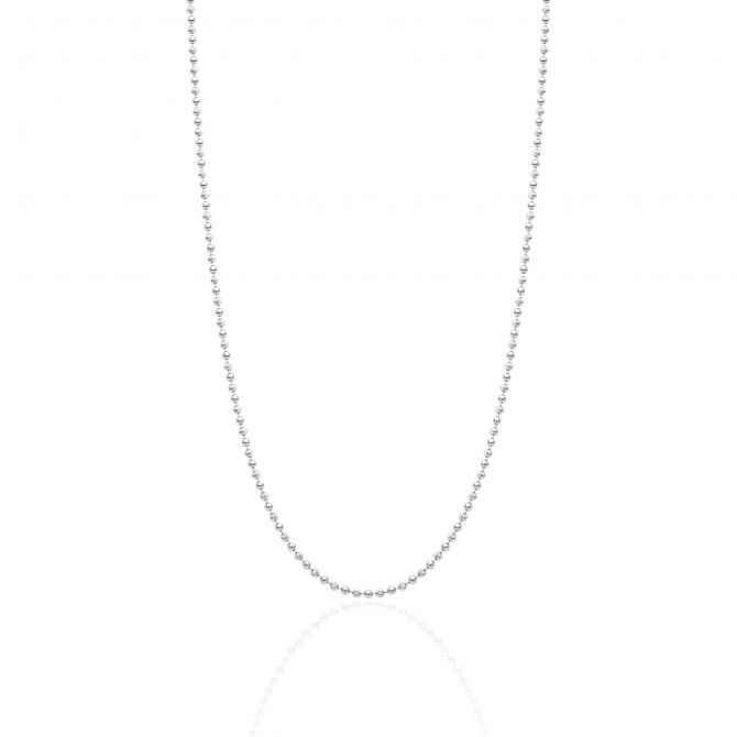 Necklace With Beads Chain