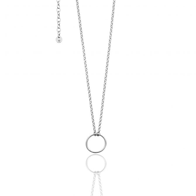 Necklace With Empty Circle Element