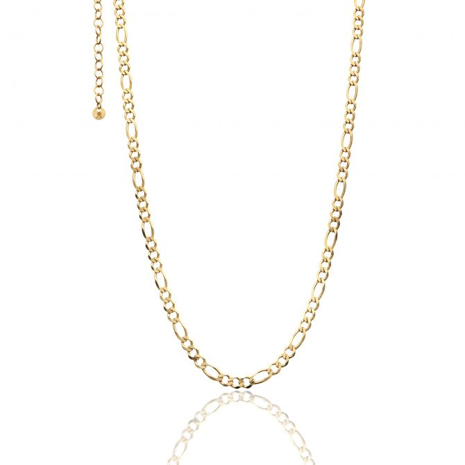 Yellow Gold Necklace With Link Chain