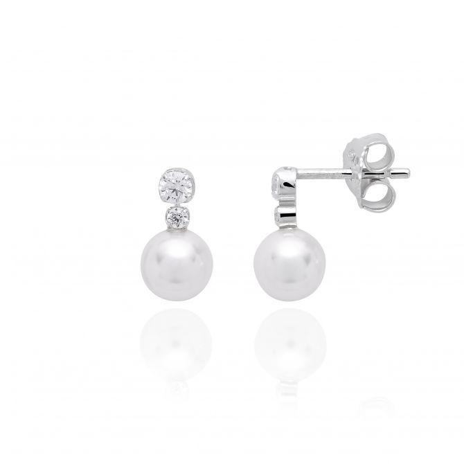 Bright earrings