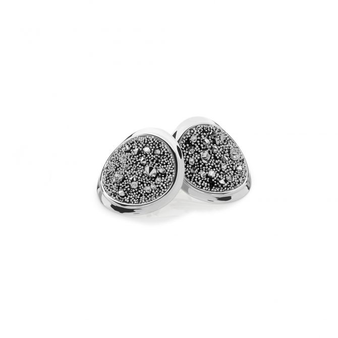 ROUND STUD MELODIA EARRINGS