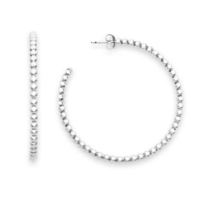 Big bead earrings