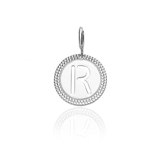 """Alphabet pendant letter """"r"""""""